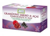 Fytopharma Ovocno-bylinný čaj granátové jablko & acaí 20x2 g