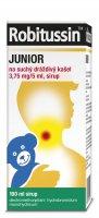 Robitussin Junior na suchý dráždivý kašel 3,75 mg/5 ml sirup 100 ml