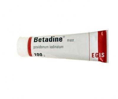 Betadine mast 100 g