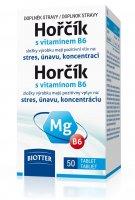 Biotter Hořčík 125 mg s vitamínem B6 50 tablet