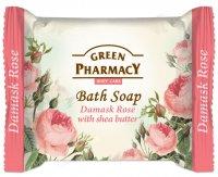 Green Pharmacy Damašská růže s bambuckým máslem toaletní mýdlo 100 g