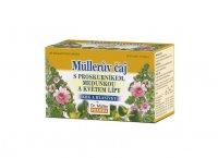 Dr. Müller Müllerův čaj s proskurníkem, meduňkou a květem lípy na krk a hlasivky porcovaný čaj 20 sáčků
