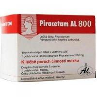 Piracetam AL 800 mg 60 potahovaných tablet