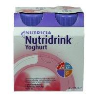 Nutridrink Yoghurt s příchutí malina por.sol. 4 x 200 ml