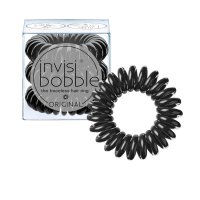 invisibobble Original gumičky do vlasů 3 ks True Black 3 ks