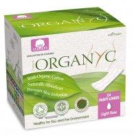 Organyc menstruační vložky z biobavlny slipové slabé 24 ks