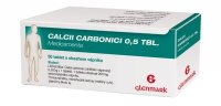 Medicamenta Calcii Carbonici 0,5 50 tablet