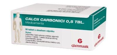 Medicamenta Calcii Carbonici 0,5 50 tablet