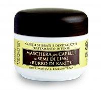 Erboristica Maska vlasová reparační se lněným olejem 200 ml