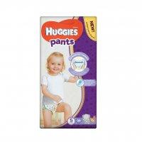 Huggies Pants Jumbo vel.5 12-17 kg plenkové kalhotky 34 ks