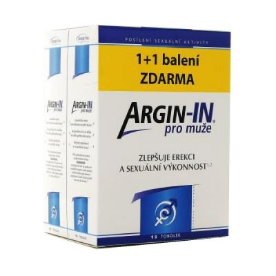 Argin-IN pro muže 2x45 tobolek 1+1 zdarma
