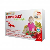 Hannasaki Fruit fenykl dětský porcovaný čaj 20x2 g