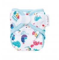 Bobánek Novorozenecké svrchní kalhotky suchý zip 1 ks u moře