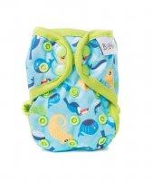 Bobánek Novorozenecké svrchní kalhotky patentky 1 ks chameleoni
