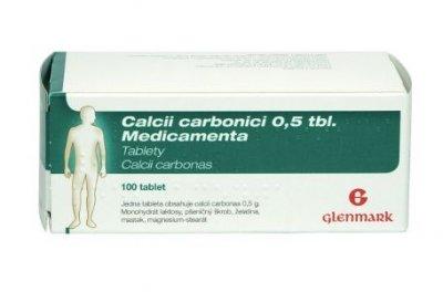 Medicamenta Calcii Carbonici 0,5 100 tablet