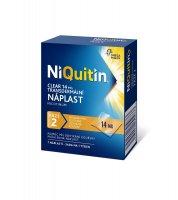 Niquitin Clear 14 mg 7 transdermálních náplastí