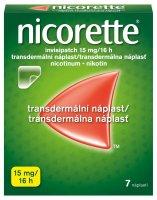 Nicorette Invisipatch 15 mg/16 h transdermální náplast 7 ks