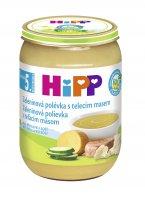 HiPP POLÉVKY BIO Zeleninová s telecím m. 190 g