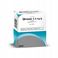 Oftagel oční gel 3x10 g