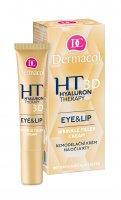 Dermacol Hyaluron Therapy 3D remodelační krém na oči a rty 15 ml