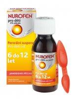 Nurofen pro děti 4% jahoda suspenze 100 ml