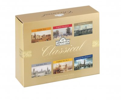Ahmad Tea Classical porcovaný čaj 6 x 10 sáčků