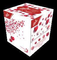 Linteo Love papírové kapesníčky v krabičce 3-vrstvé 60 ks