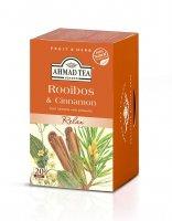 Ahmad Tea Rooibos & Cinnamon porcovaný čaj 20x1,5 g