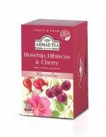 Ahmad Tea Rosehip & Cherry porcovaný čaj 20 x 2 g