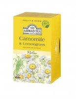 Ahmad Tea Camomille & Lemongrass porcovaný čaj 20 x 1,5 g
