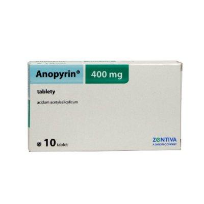 Anopyrin 400 mg 10 tablet
