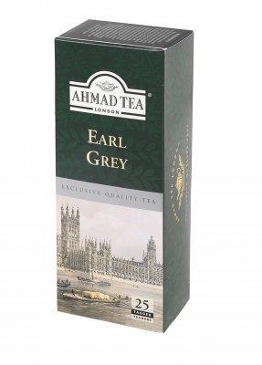 Ahmad Tea Earl Grey porcovaný čaj 25x2 g