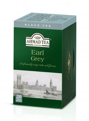 Ahmad Tea Earl Grey porcovaný čaj 20x2 g