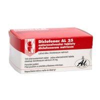 Diclofenac AL 25 100 tablet