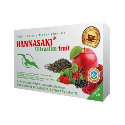 Hannasaki Ultraslim Fruit sypaný čaj 75 g