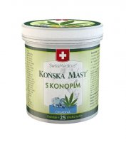 SwissMedicus Koňská mast s konopím chladivá 250 ml