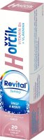 Revital Hořčík + vitamin B6 příchuť grep 20 šumivých tablet