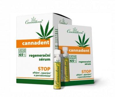 Cannaderm Cannadent sérum 10x1,5 ml