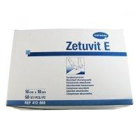 Zetuvit E Kompres nesterilní 10 x 10cm 50 ks