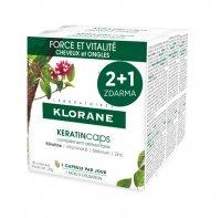 KLORANE Keratincaps Síla a vitalita 3x30 kapslí