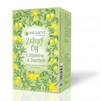Megafyt Zelený čaj s citrónem a limetkou 20x1.5 g