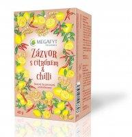 Megafyt Zázvor s citrónem a chilli ovocný čaj porcovaný 20x2 g