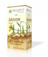 Megafyt Bylinková lékárna Zázvor porcovaný čaj 20x1,5 g