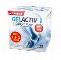 Salutem Pharma GelActiv 3-Collagen Forte 60+60 kapslí