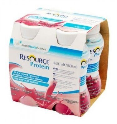 RESOURCE® Protein lesní plody 4x200 ml
