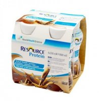 RESOURCE® Protein kávový 4x200 ml