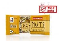 Nutrend DeNuts Ořechová tyčinka kešu + mandle 35 g