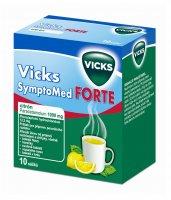 Vicks SymptoMed Forte citron 10 sáčků