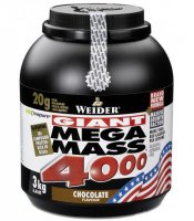 WEIDER Giant Mega Mass 4000 chocolate 3000 g