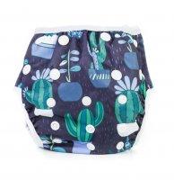 Bobánek Rostoucí plavky 1 ks modré s kaktusy